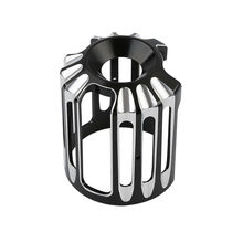 Motorcycle Black CNC Aluminum Oil Filter Cover Cap Trim For Harley Twin Cam Model Touring Road Street Glide King Softail Dyna цена