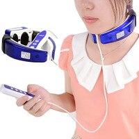 Domain Neck Cervical Spondylopathy Vertebra Therapy Care Instrument Electric Laser Vibrating Massager