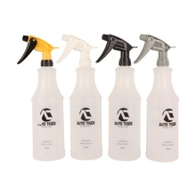 1Pc Professional 1000ML Ultra-fine Water Mist Cylindrical Spray Bottle HDPE Chemical Resistant Sprayer For QD Liquid Auto detail