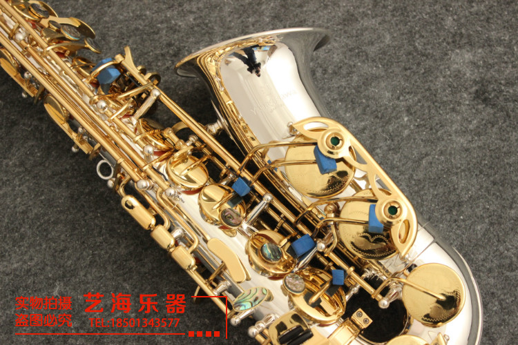 2018 New YANAGISAWA A-902 Brand Musical Instruments Alto Saxophone Eb Tone Silver Plated E Flat Sax With Case Mouthpiece