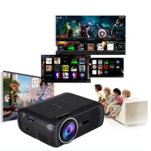 BL80 Portátil Full HD TV Proyector de Cine En Casa HDMI LCD Juego de PC de Vídeo Digital Mini Projetors LED Proyector 3D Beamer 1080 P