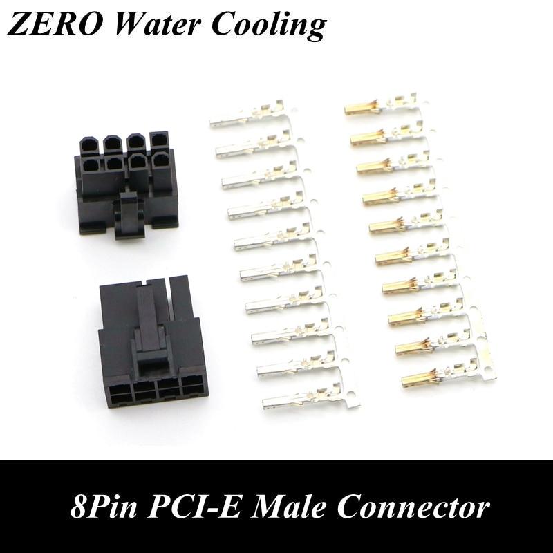 4.2mm 5557 8Pin GPU PCI-E Male Connector + 10pcs Terminal Pins.