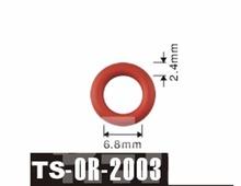 Darmowa wysyłka Tenso 6 8*2 4mm dla wtryskiwacza paliwa O #8217 Rings ORings O pierścienie o-ringi TS2003 tanie tanio Viton China (Mainland) TS-OR-2003 Fuel Injector Viton O-Rings Optional Petrol Fuel Injector 1 Year