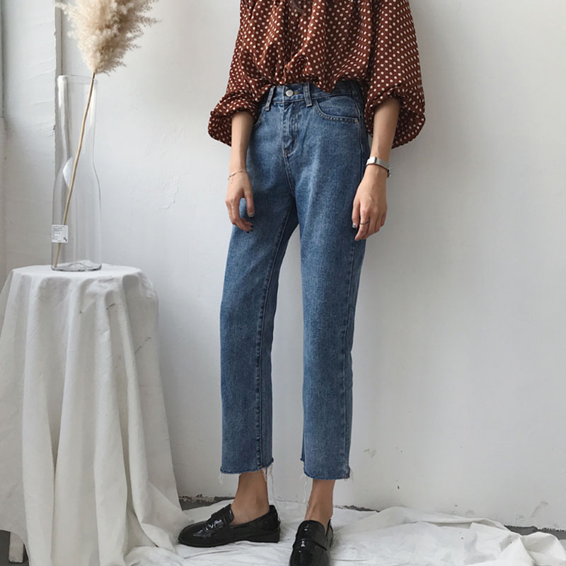Cheap Wholesale 2019 New Spring Summer Hot Selling Women's Fashion Casual  Denim Pants NC27