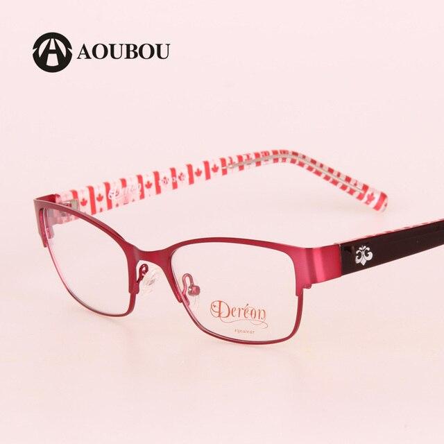 Очки для женщин, Красная оправа из нержавеющей стали, овальная форма  TR90, очки компьютерные, Oculos De Grau  B006