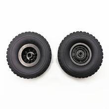 Upgraded 4(6)pcs Replacement Racing Rim Tires Toy Car Wheel For WPL C34 B16 B24 B36 C14 C24 Rc Parts