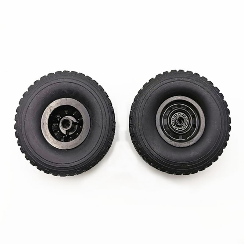 Upgraded 4(6)pcs Replacement Racing Rim Tires Toy Car Wheel For WPL C34 B16 B24 B36 C14 C24 Rc Car Parts