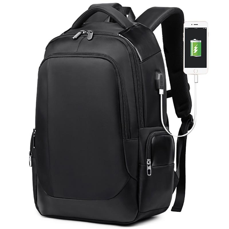 Waterproof nylon Men Backpack Large Capacity for 15.6 Laptop Man Backpack USB Charge Travel School Bag Multi-pockets BackpackWaterproof nylon Men Backpack Large Capacity for 15.6 Laptop Man Backpack USB Charge Travel School Bag Multi-pockets Backpack