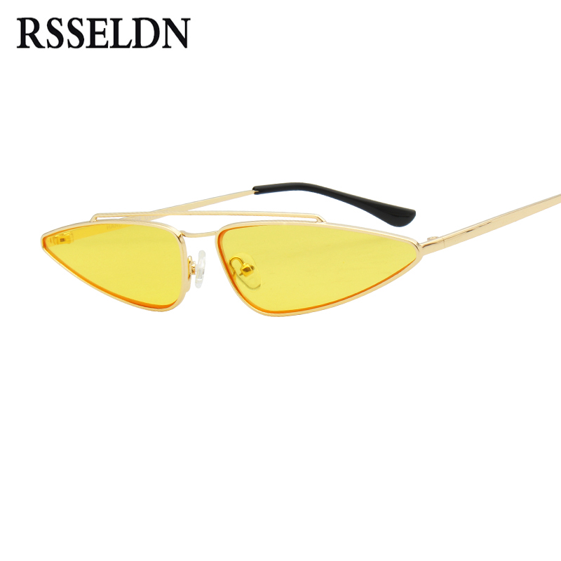 Small Lens Cat Eye Sunglasses