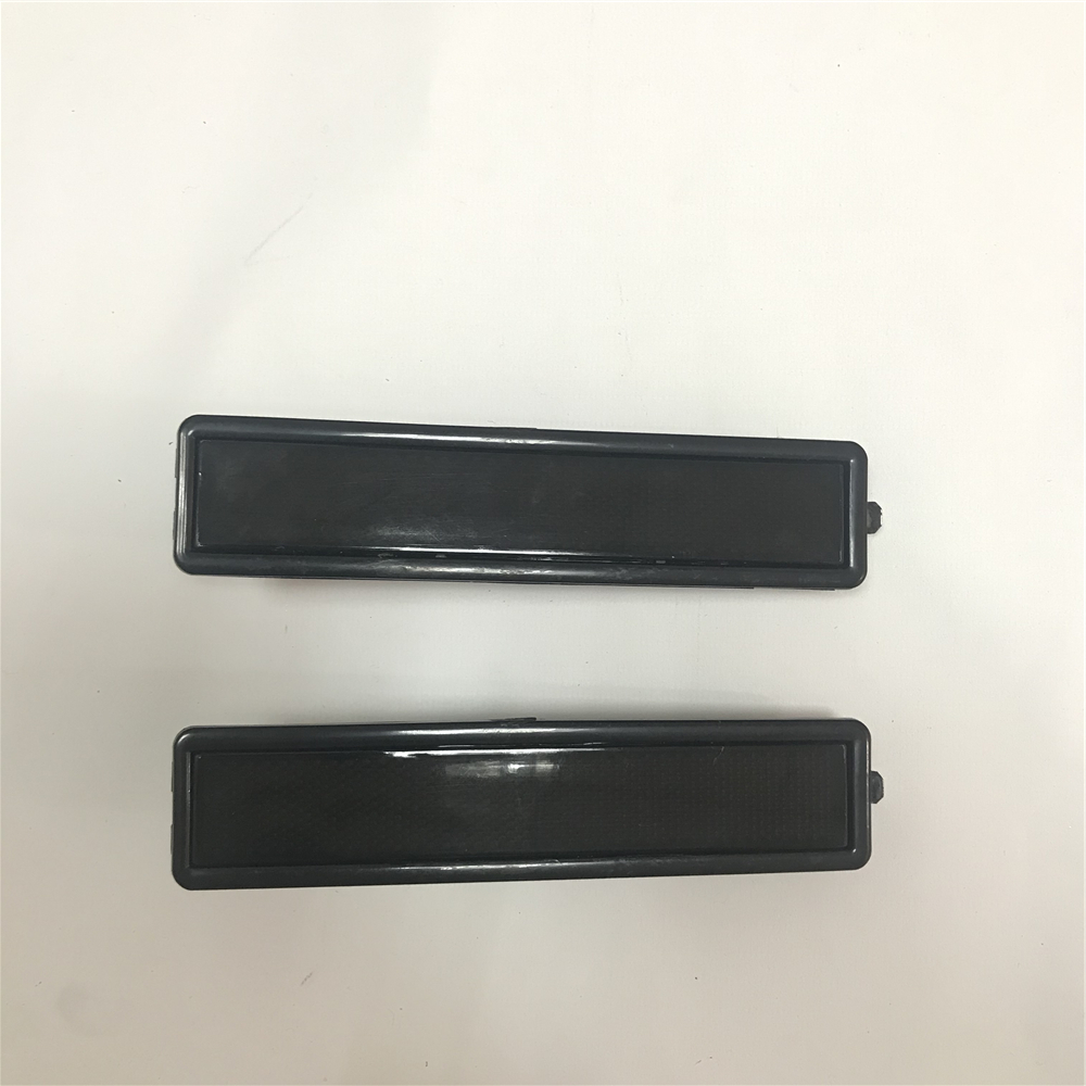 2pcs Rear Left Right Side Turn Signal Marker Light Lamp Lens For BMW <font><b>E30</b></font> E32 E34 318i 318is 325es 325i 63 14 1 377 849 image