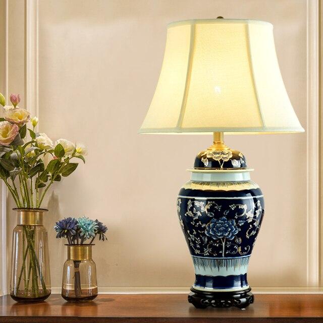 China Antike Wohnzimmer Studie Retro Vintage Tischlampe Porzellan ...