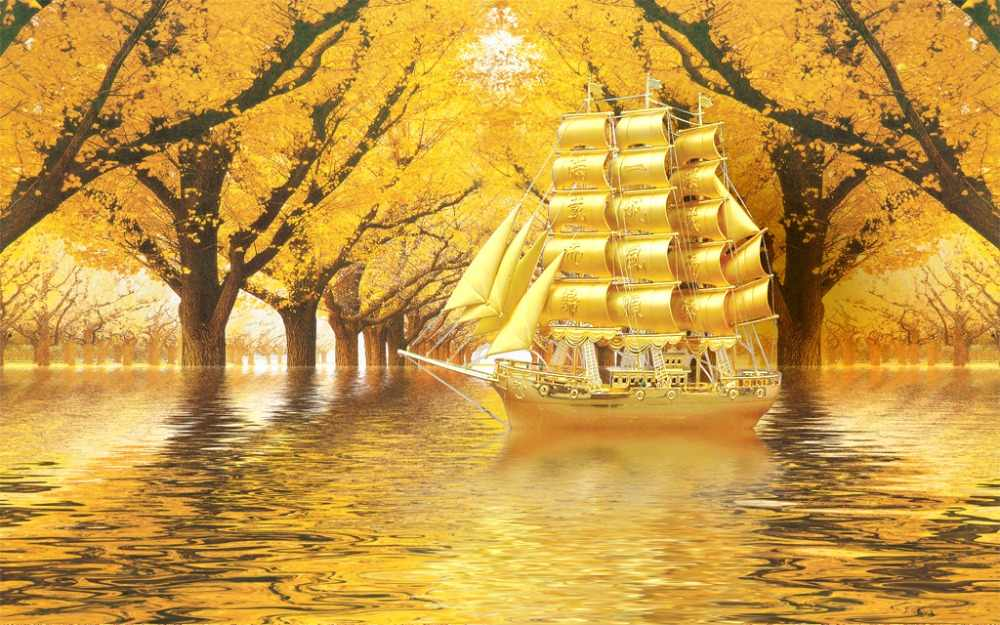 curtains for window living room yellow nature scenery curtain