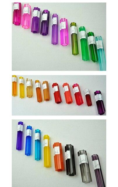 Modern LED Lighting Lamps Colored Glass Suspended Chandelier Lighting