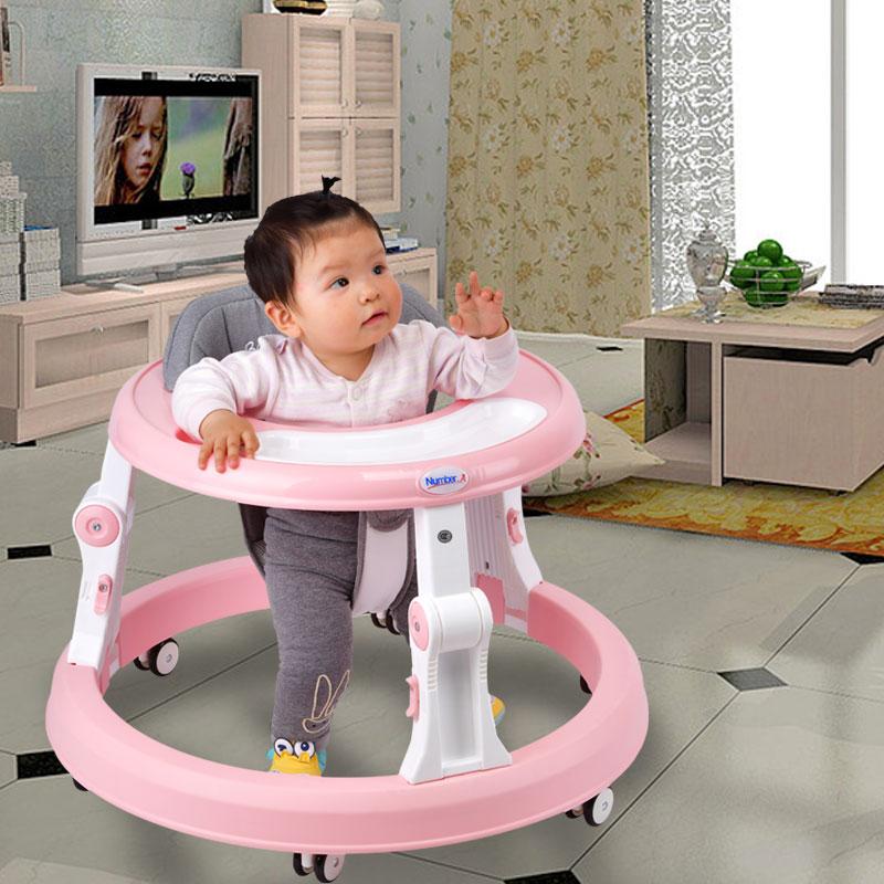Nombre. A bébé marcheur poussette marche bébé premiers pas voiture pliante bambin chariot assis sur pied vélo enfants tricycle pour enfants - 5