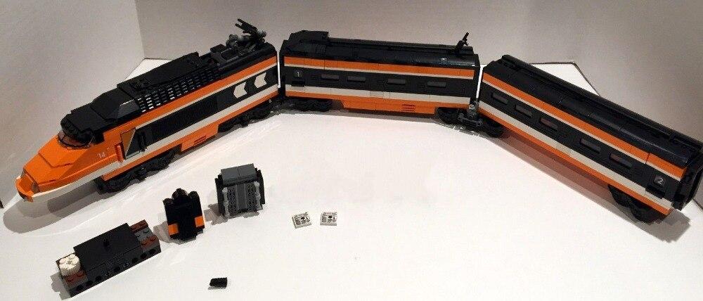 Lepin 21007 Horizon Express Train Building Bricks Blocks New year Gift font b Toys b font