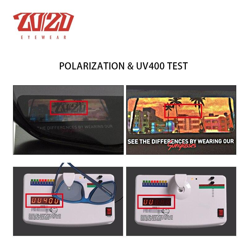 20/20 Marca Gafas de sol polarizadas Hombres UV400 Clásico Masculino - Accesorios para la ropa - foto 6