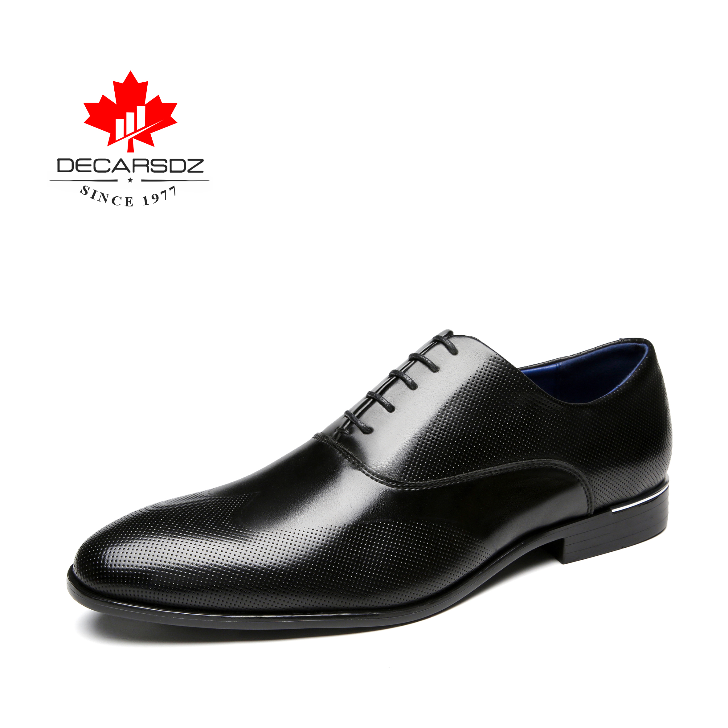 Men s Shoes 2019 Business Casual Shoes For Men Dress Shoes Brand Fashion Leather Shoes Office
