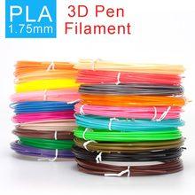 Smaffox 3D Ручка нити 1,75 мм PLA 20 цветов 200 м PLA чистые окружающей среды печати материал температура 185'C