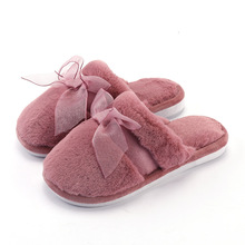 High Quality Non-slip Women Winter Warm Indoor Lovers Slippers 2019 Women's Plush Flip Flops Home Shoes Cotton Home Slippers цена 2017