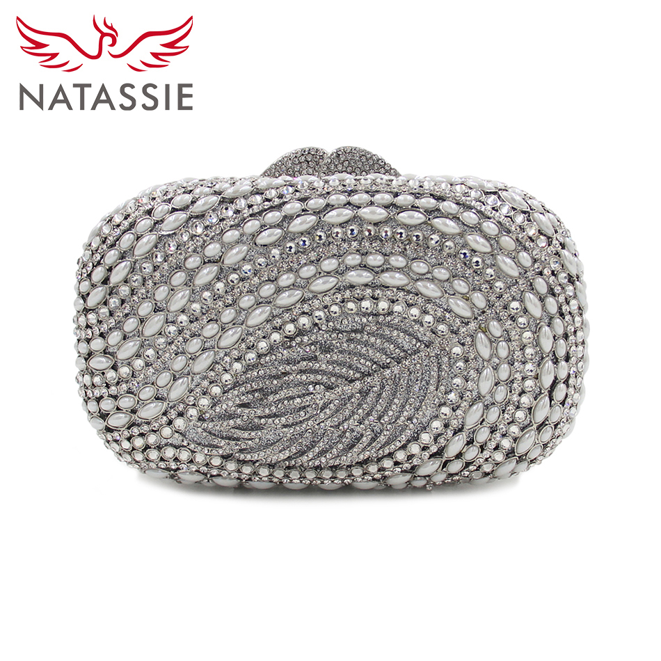 Popular Silver Evening Clutch-Buy Cheap Silver Evening Clutch lots ...