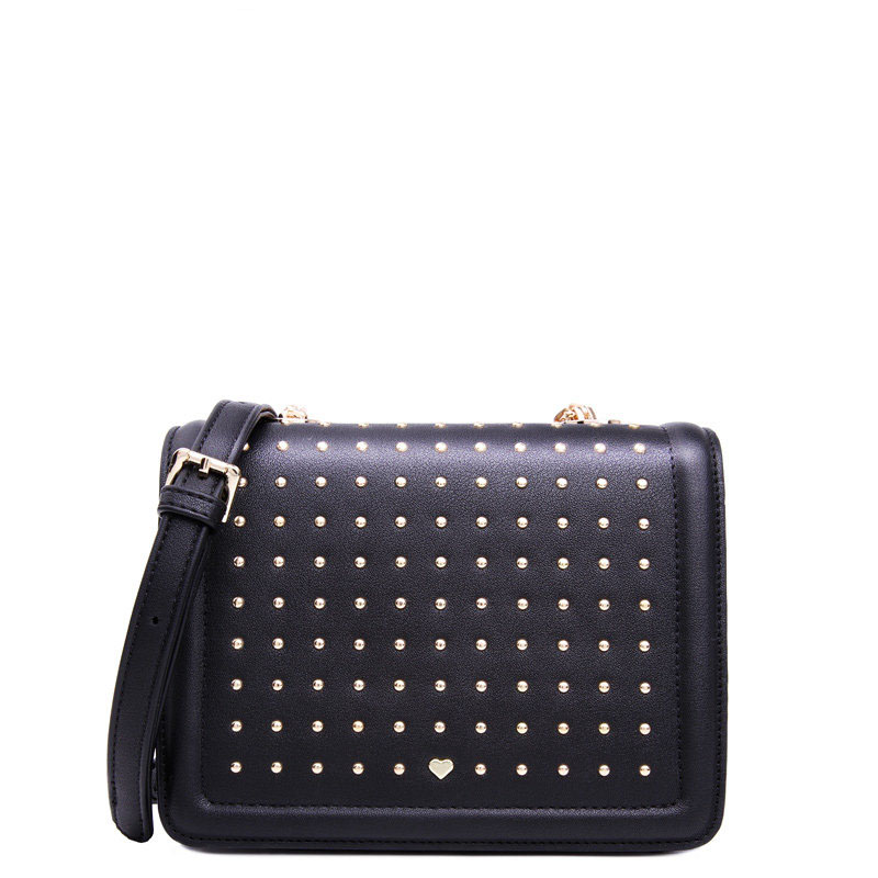Japan Style Small Bag Famous Brand Designer Ladies Casual Shoulder Bag Small Rivet studded Flap Bag
