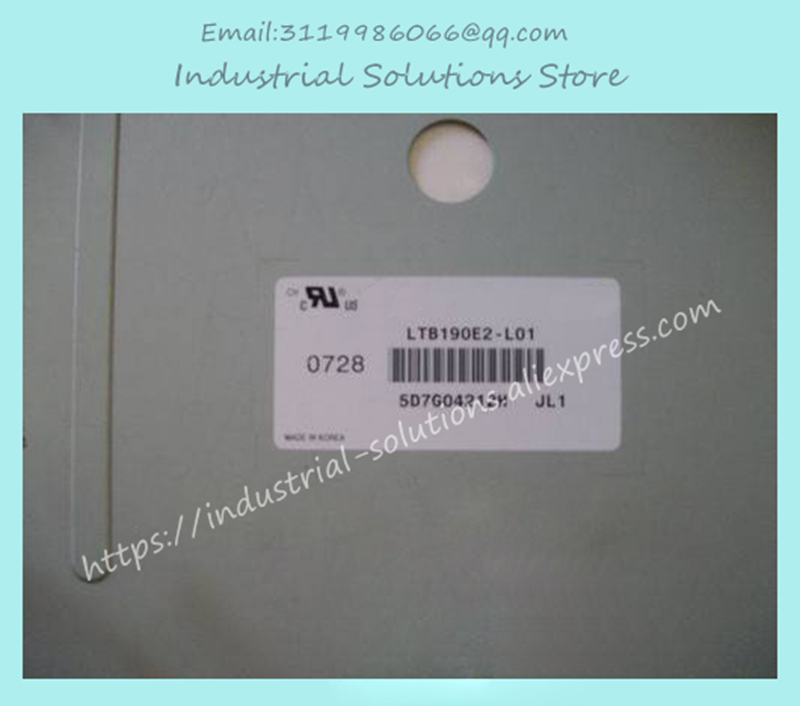 все цены на  Industrial lcd touch screen panel LTM190E4-L02  онлайн