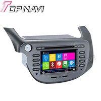 Topnavi 7 Car DVD GPS For Honda FIT/JAZZ 2007 Car Radio Multimedia Audio Stereo In Dash,Wince System