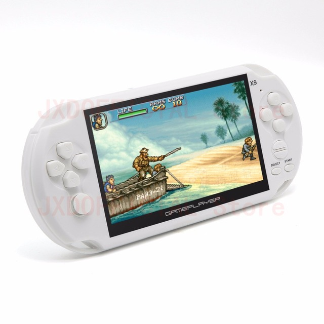 16GB 128Bit Handheld Game Console 5.1 inch MP4 Video Game Console built-in 3000/1395 games for arcade/gba/gbc/snes/fc/smd