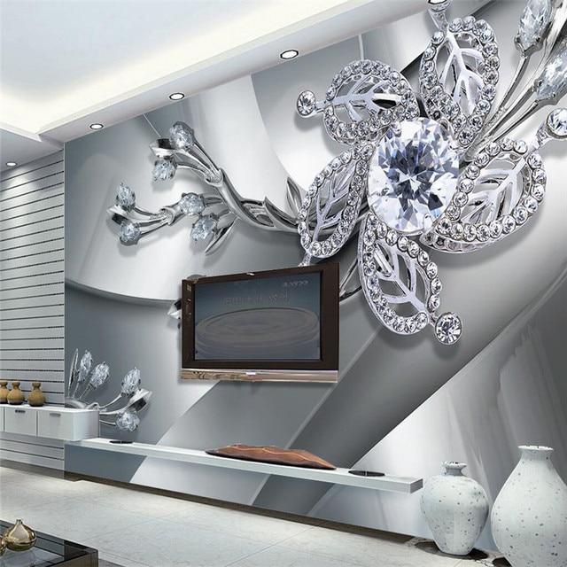 Buy Wall Panel Wallpaper Diamond Plum Rose Pattern Background Modern Europe Art