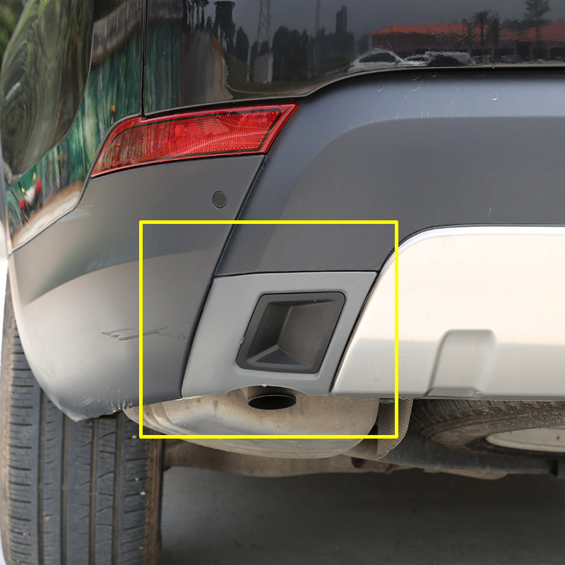 For Land Rover Discovery 5 LR5 L462 S SE HSE Version 2017 2018 Car ABS Plastic Car Tail Exhaust Cover Trim Replacement Parts inner car door moulding trim cover for land rover l462 discovery 5 2017 2018 4pcs