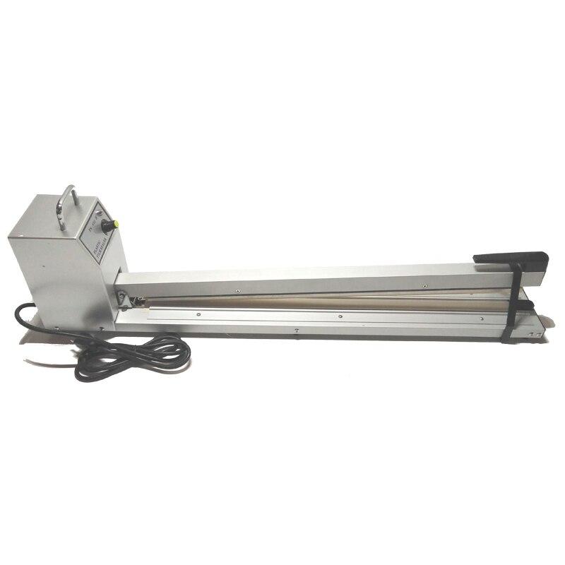 Hand Impluse Sealer 600MM Sealing Length Heat Sealing Bag Machine manual sealing machine enlarge sealer SF600 110V/220V 60/50HZ  цены
