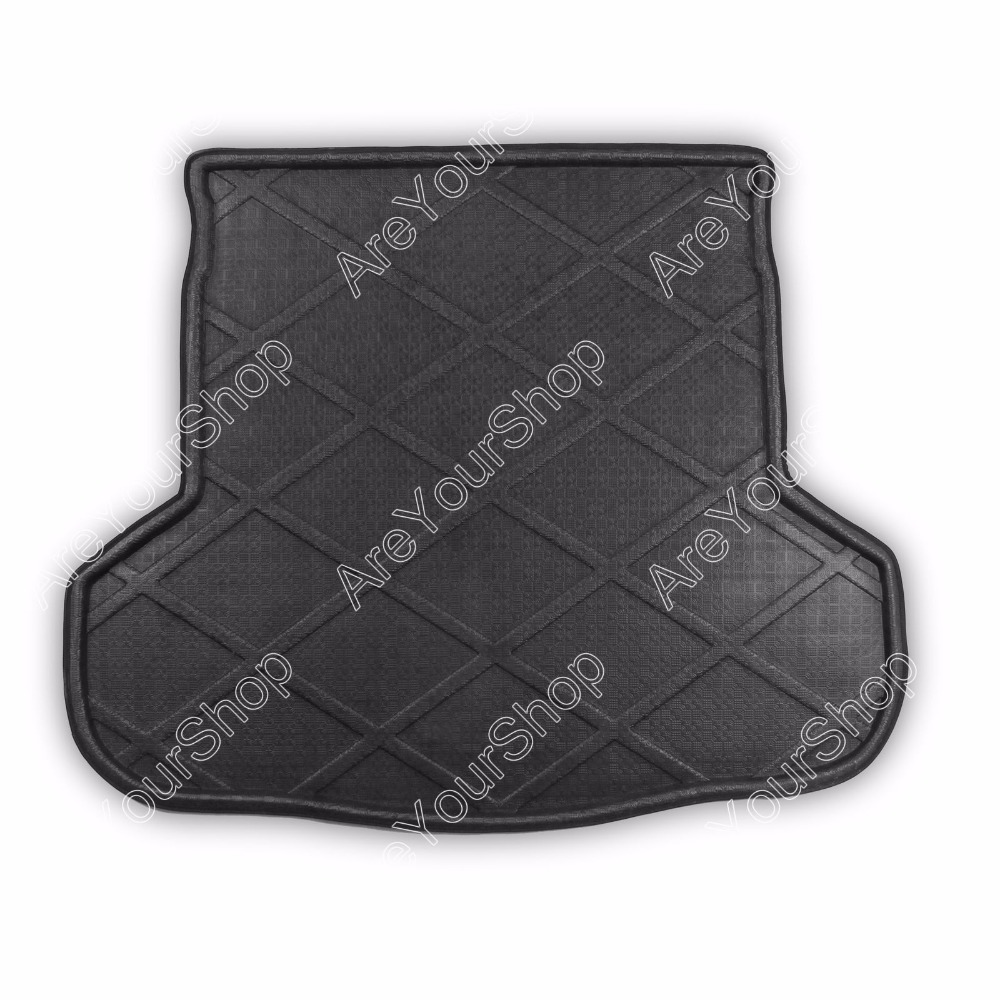 Car Auto Cargo Mat Boot liner Tray Rear Trunk Sticker Dog Pet Cover For Mazda 6 ATENZA 2014 High Quality Car-covers Stickers car rear trunk security shield cargo cover for volkswagen vw tiguan 2016 2017 2018 high qualit black beige auto accessories
