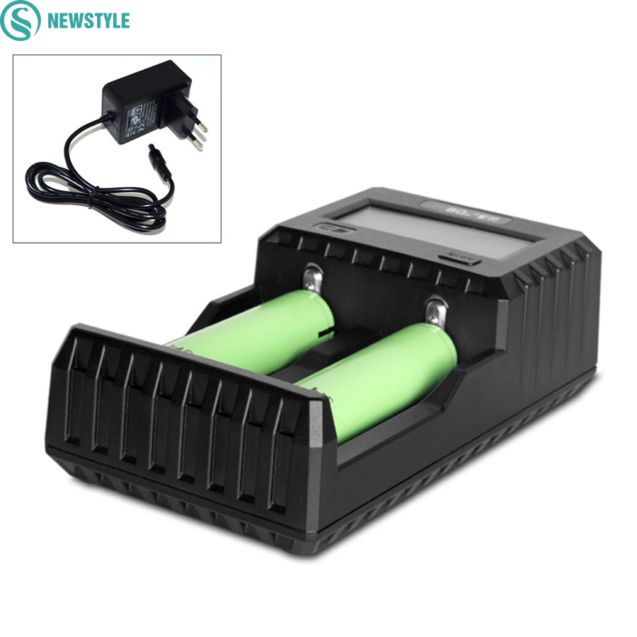 Rechargeable Battery Charger C2-3000 Portable Lighting Accessories C2-3000 Miboxer 2 Channel For Li-ion NI-MH IMR ICR kinklight 08210 01 3000 6000k