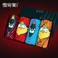 Funny Birds Mens Boxer Shorts Cartoon Breathable Mens Bamboo Underwears Trunk Sexy Penis Pouch Panties 4pcs/set