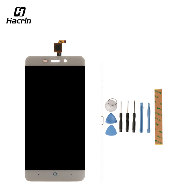 Hacrin for ZTE Blade X3 A452 LCD Display+Touch Screen with Tools Glass Panel Digitizer Accessories Replacement For ZTE D2 T620