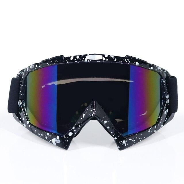 אופנוע משקפי מוטוקרוס Gafas Moto Sandproof רכיבה אופנוע משקפיים Gafas מוטוקרוס DH עפר אופני משקפי