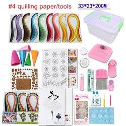 Full set starter scrapbooking quilling paper quilling tool kit climper border tower rolling pen needle tweezer.jpg 250x250