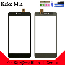 Keke Mia 5.5 TouchScreen Digitizer Panel Glass For BQ 5510 BQ-5510 BQS BQS-5510 Strike Power Max 4G Touch Screen Sensor