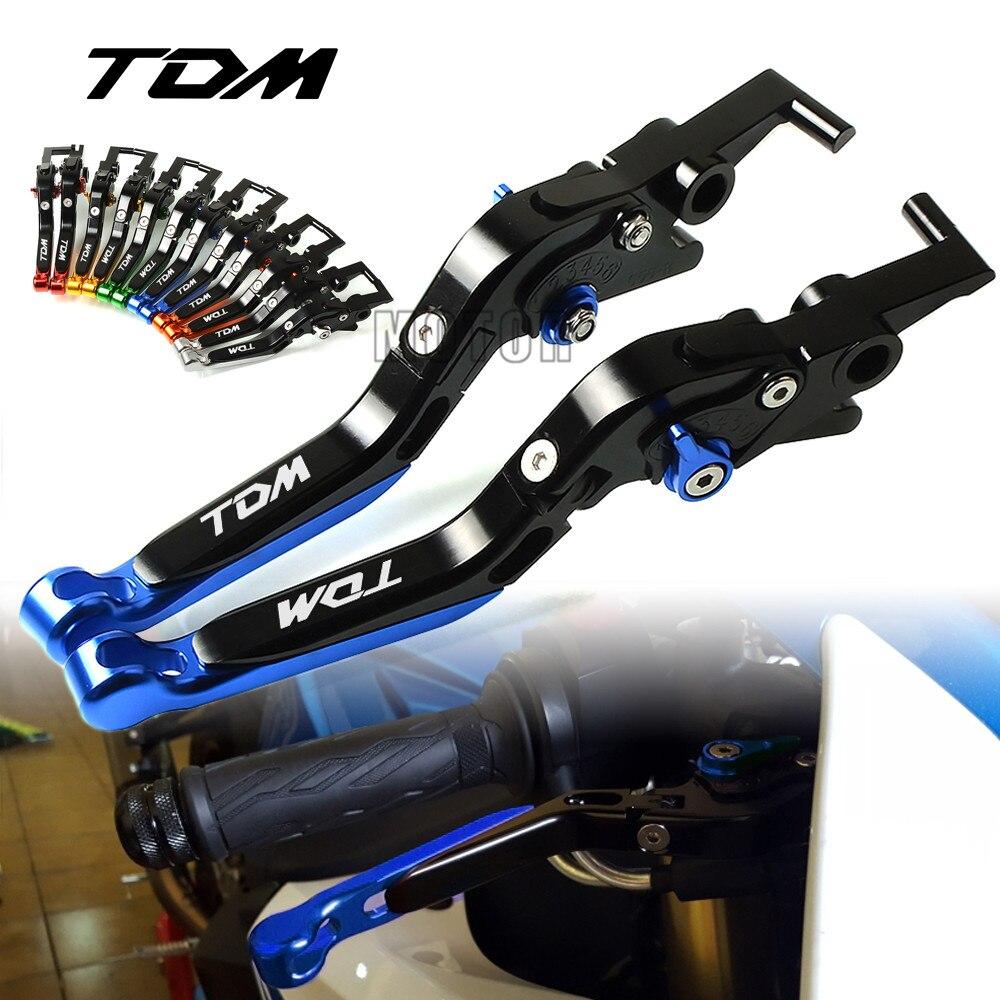 For Yamaha TDM900 2012 2014 TDM850 1991 2002 Motorcycle Aluminum Brake Clutch Levers Adjustable Folding Extendable