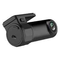 Dolity 1080P Car DVR Dash Camera Driving Recorder Wi Fi with G Sensor Car Dash Cam Car Video Recorder Black