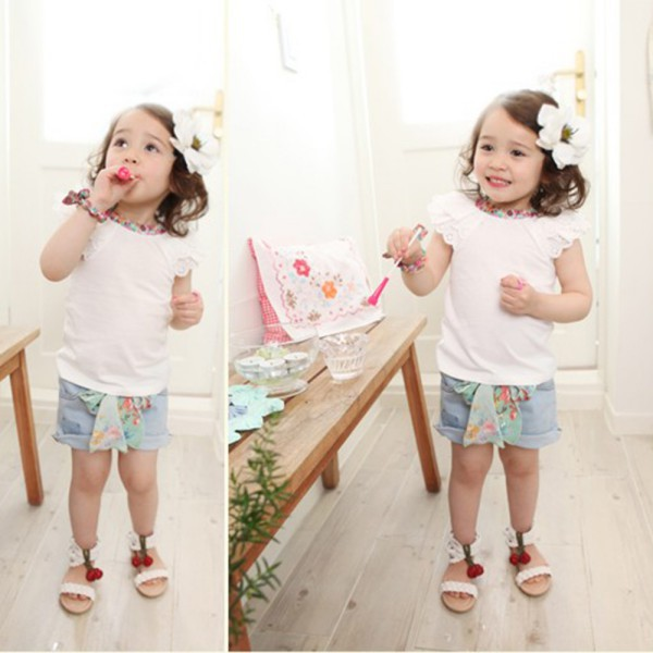 0-2Y-Kids-Baby-Girls-Clothing-Floral-Collar-T-shirts-Cute-Short-Sleeve-Tops-Blouses-Shirts-2