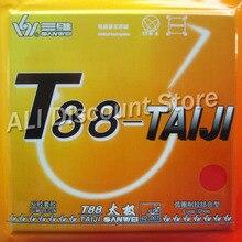 Sanwei T88-TAIJI Loop Chop Pips-in Table Tennis Rubber With Sponge