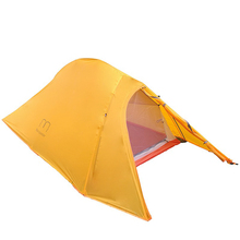 1.35KG  Silicone Coated Waterproof 20D Nylon And Carbon Fiber Pole Double-layer Two-person Ultralight UL  Camping Tent emblem antelope quality aluminum pole double double layer waterproof wind resistance ultralight portable camping tent