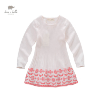 DK0623 Dave Bella Spring Autumn Girls Princess Cute Boutique Dress