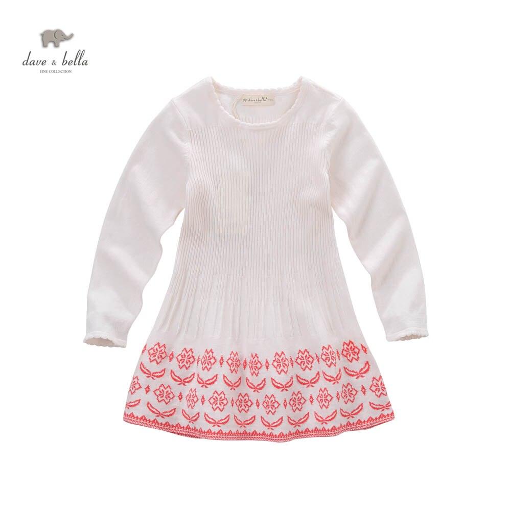 ФОТО DK0623 dave bella spring autumn girls princess cute boutique dress