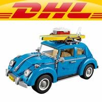Yile 003 Creator Series City Car Beetle Building Blocks 10252 Technic Bricks Action Figure Vehicle Toys