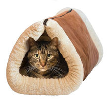 High Quality 2 In 1 Tube Cat Mat And Bed Pets Beds Soft House For Pet Accessories
