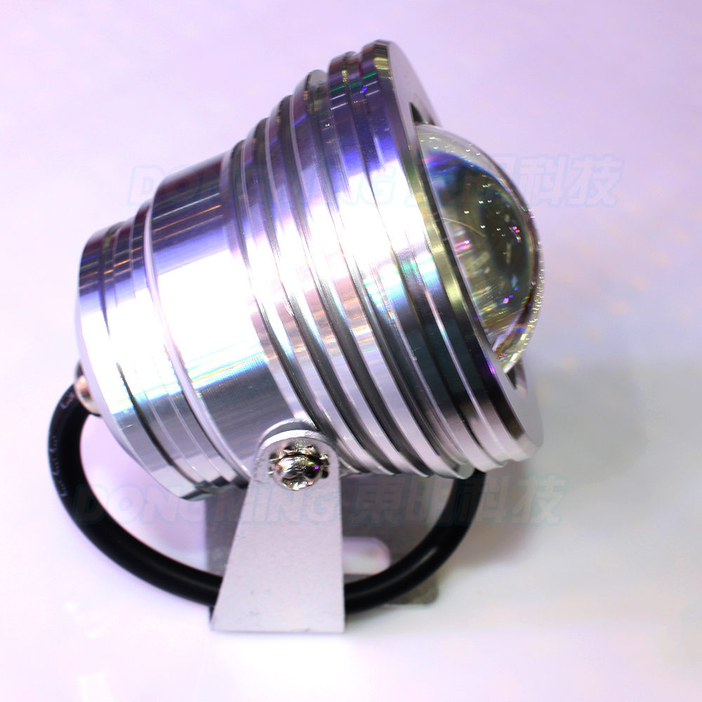 10 pcs led underwater silver cover led 01