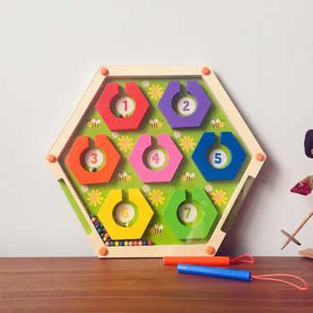 Nuevo Juguete Juguetes Con Niños Los Regalo Para Laberinto Juego Montessori Niñas Madera Familia De Educativos Fiesta Matemáticas La Znw80ONkPX