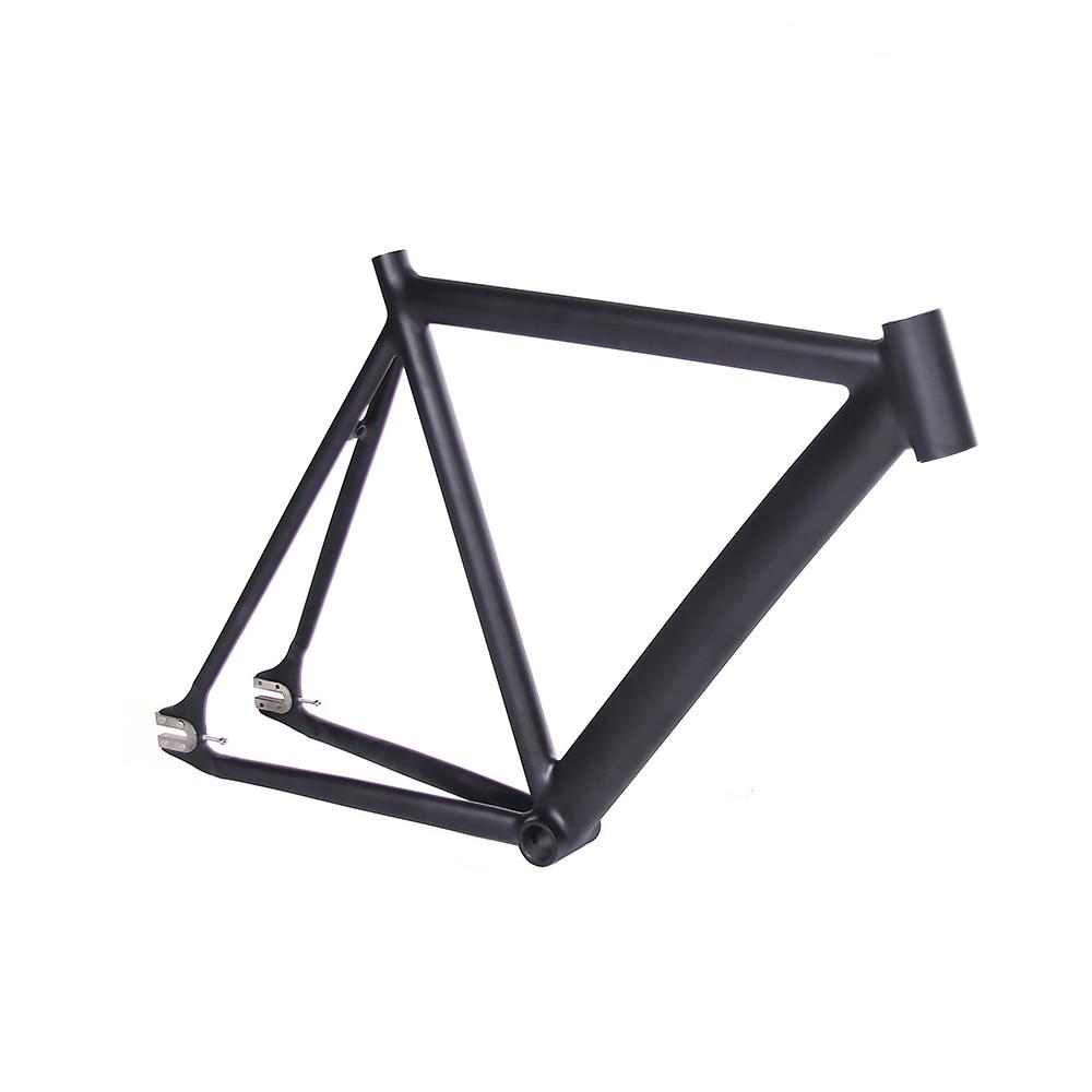 700C bicicleta De Artes Fijos marco negro mate Suave De Soldadura 54 ...
